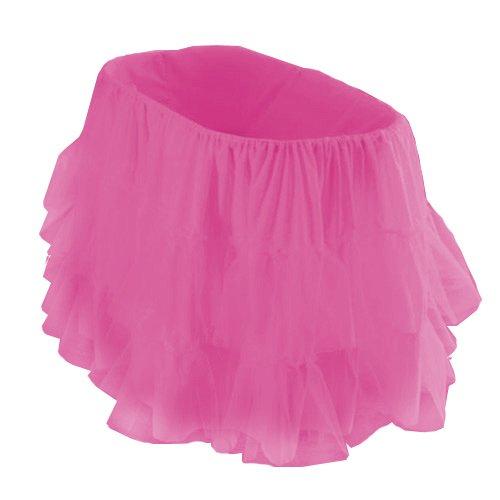 bkb Bassinet Petticoat, Hot Pink, 16