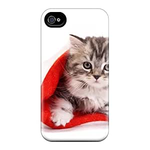 Protection Cases Ipod Touch 4 / Cases Covers For Iphone(santa Paw's Is Coming To Town)