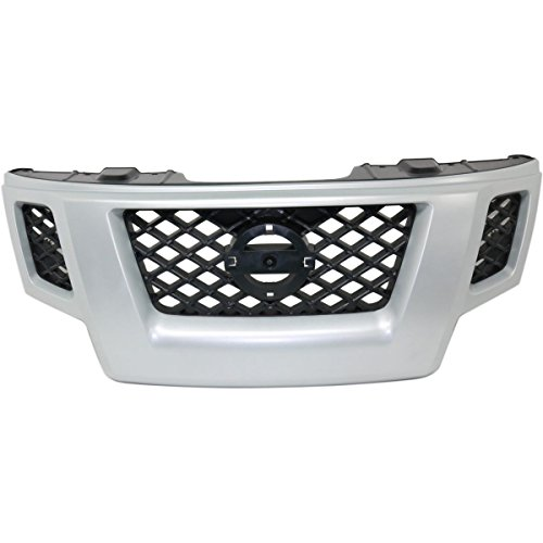 Nissan Xterra Bumper Trim - Front Grill Grille Assembly For Nissan Xterra NI1200241
