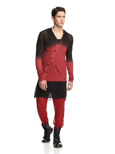Ann Demeulemeester Men's Knit, Kashcot Phantom/Deep Dye, XXS - Men Demeulemeester Ann