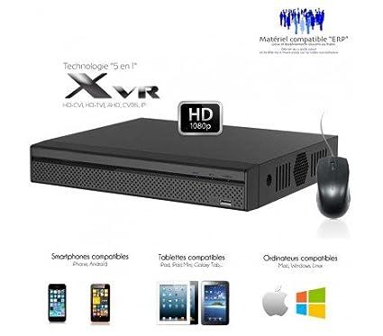 Dahua - XVR 8 canales Full 1080p + 4 Cámaras IP, salida Spot ...