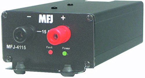 MFJ-4115 Switching power supply, 13.8V 15A, small by MFJ