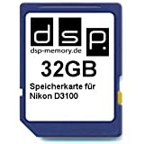 DSP SDHC FOR Nikon D3100 - Secure Digital High Capacity Card (SDHC)
