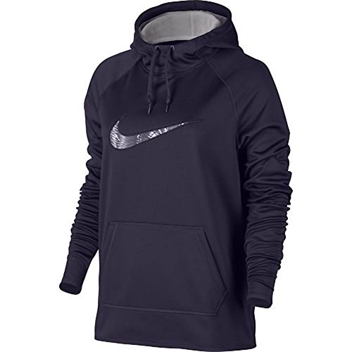 Court Womens Sweatshirt - Nike Women's All Time Therma Training Hoodie (Medium)