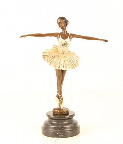 wohnwelt En Socle Ballerines Bronze Marbre Ellas Avec En AU7aaqf