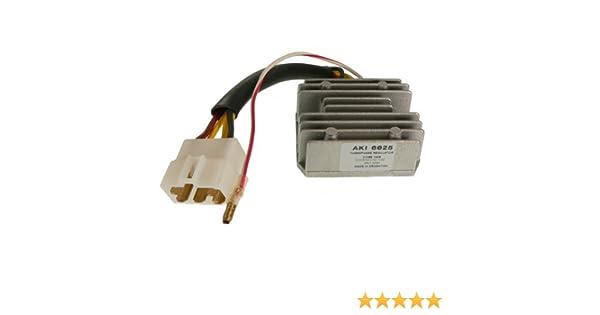 DB Electrical AKI6025 Voltage Regulator For Kawasaki Motorcycle KZ550 LTD 80-83 GPz 1981 KZ650 CSR 81-83 KZ750 80-82 LTD 80-83 KZ1000 LTD 77-80 Police 78-81 Z1R 78-80 Shaft 79-80 21066-1008