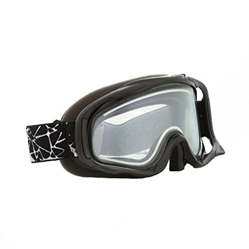 Black - Clear CKX Electric Snow Goggles by CKX
