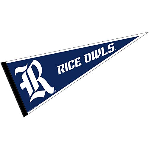 College Flags and Banners Co. Rice University Pennant Full Size ()