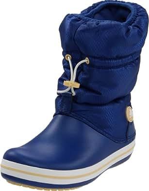 Crocs Women's Crocband Winter Boot,Agean Blue/Custard,5 M US