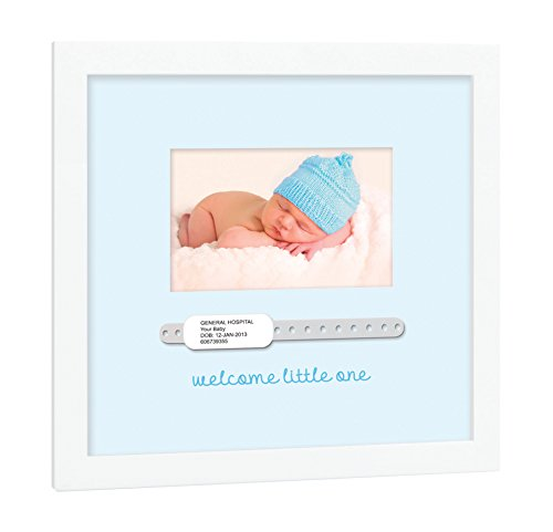 Tiny Ideas Baby's Hospital Keepsake Photo Frame, Perfect Unique Gift For New Or Expecting Parents