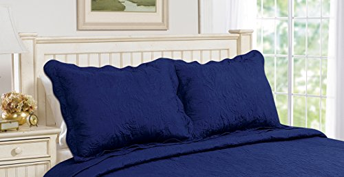 pillow shams king quilted - 8