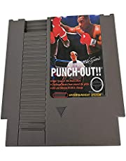 nes game cartridge with mike tyson punch out for nes game machine game console
