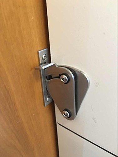 Diyhd Stainless Steel Lock For Sliding Barn Door Wood Door Latch