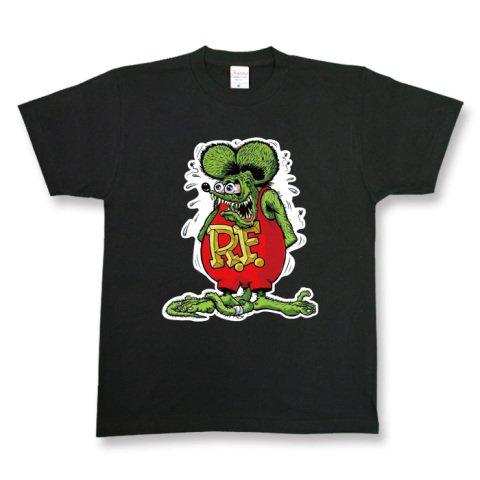 聴覚障害者センブランス外国人RAT FINK ラットフィンク ロック バンド どぶねずみ パロディ メンズ レディース ユニセックス 半袖Tシャツssbk00073