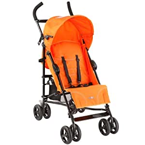 Dream On Me / Mia Moda Facile Umbrella Stroller, Tangerine