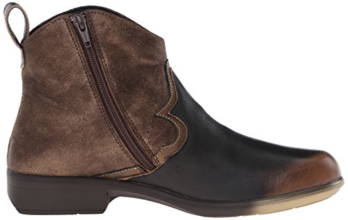 Bronze Women's Naot Brown Sirocco Leather Suede Shimmer Grecian Boot Gold Volcanic wawdOXqF