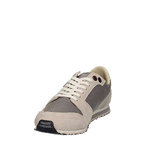 Tommy Hilfiger S2385print 2c1, Zapatillas para Hombre GRIS
