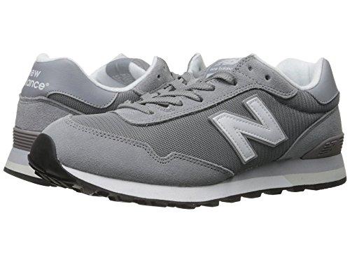 (ニューバランス) New Balance メンズランニングシューズ?スニーカー?靴 ML515 Steel/White スティール/ホワイト 6.5 (24.5cm) D