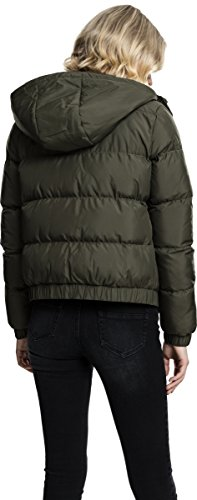 Urban Blouson Femme Classics Ladies Hooded Puffer Gr Jacket rRp6rwq