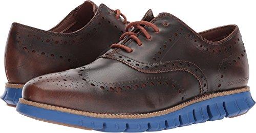 Cole Haan Men's Zerogrand Wing Leather, Woodbury/Limoges Blue, 10 Medium US