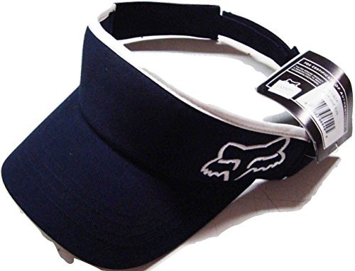 c48c092e010 Image Unavailable. Image not available for. Color  Fox Racing 45 Adjustable  Visor Cap Navy White Osfa