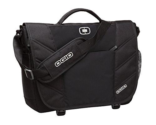 (OGIO 417015 - Black Upton Computer Laptop Messenger Bag/Briefcase,)