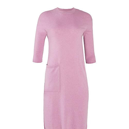 Goyo Cashmere 100% Women's Dress Pocket (Light Purple, ()