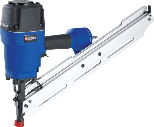 Factory-Reconditioned   Clipped Head 34 Degree Stick Framing Nailer - Campbell Hausfeld NS349000RB
