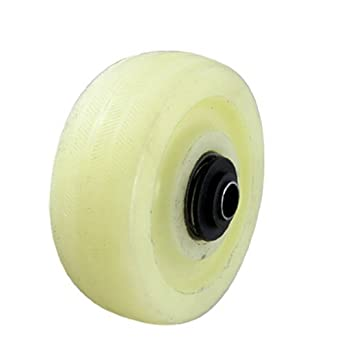 eDealMax a11102600ux0179 las ruedas giratorias DE 4 pulgadas de diámetro cojinete de Bolas de Nylon Industrial Caster Rueda de Marfil: Amazon.com: ...