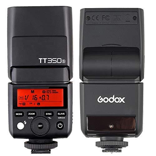 Godox TT350S 2.4G HSS 1/8000s TTL GN36 Wireless Speedlite Flash for Sony Mirrorless DSLR A7 A7R A7S A7-II A7-III A7R-II A7R-III A7S-II A6300 A6000 Color Filter