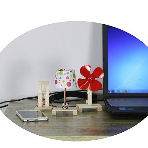 50%OFF Delinx STEM Building Toy DIY Project Hand Crank Power