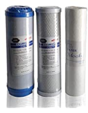 Filter Set 3 stages for Home desalination device