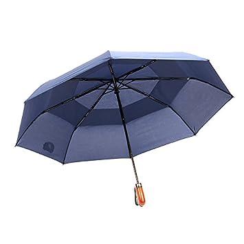 MAYUAN520 Paraguas Super Ligero Bloqueador Solar Fibra De Carbono Plegado Paraguas Sombrilla Vinilo Paraguas,Pink