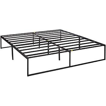 Amazon Com Modway Ollie Steel King Modern Platform Bed