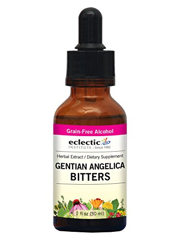 Eclectic Gentian Angelica Bitters O, Red, 1 Fluid Ounce