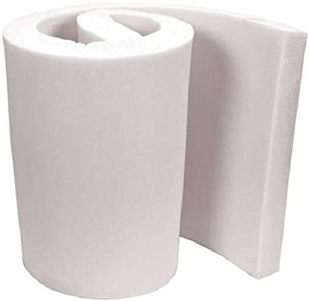 FoamTouch Upholstery Foam Cushion High Density 1 Height x 18 Width x 18 Length Made in USA