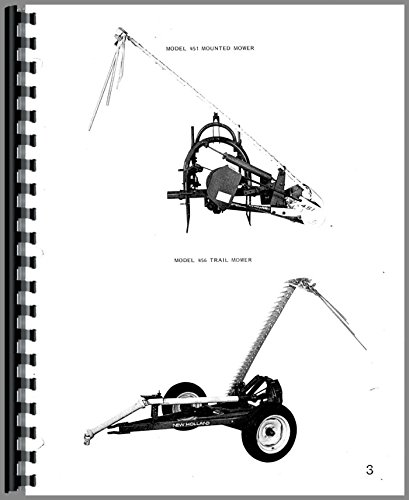 Parts Manual New Holland 451 456 Sickle Bar Mower