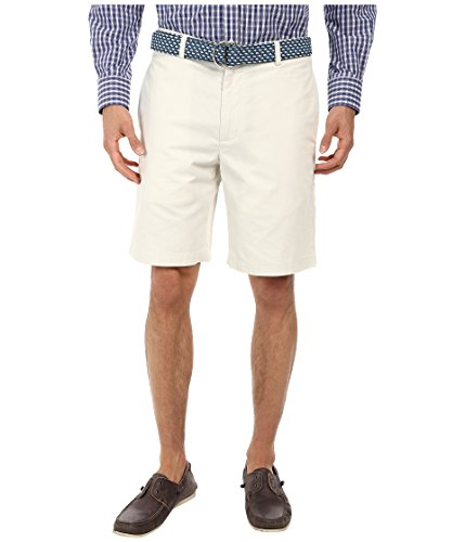 (New Vineyard Vines 9 Summer Twill Club Short Stone 35 Mens Shorts)