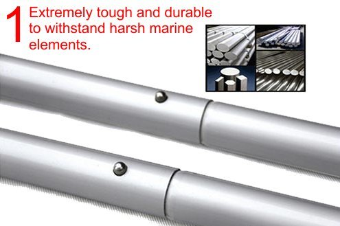 Oars 52'' for inflatable boats | 2pcs set