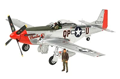 Tamiya 25151 1/32 North American P-51D Mustang Silver Color