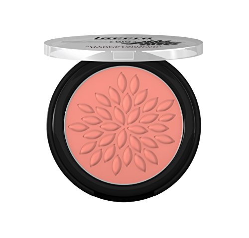 lavera So Fresh Mineral Rouge Powder Puder ∙ Farbe Charming Rose ∙ sanfter schimmer & seidig zart ∙ Natural & innovative Make up ✔ Bio Pflanzenwirkstoffe ✔ Naturkosmetik ✔ Augen Kosmetik 1er Pack (1 x