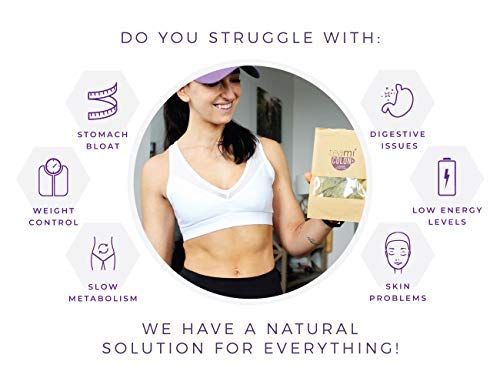 aa18b6156 Amazon.com  Detox Tea Weight Loss Cleanse - 30 Day Supply Slimming Teami  Colon Tea Bag with All Natural Herbal Ingredients to Reduce Bloating