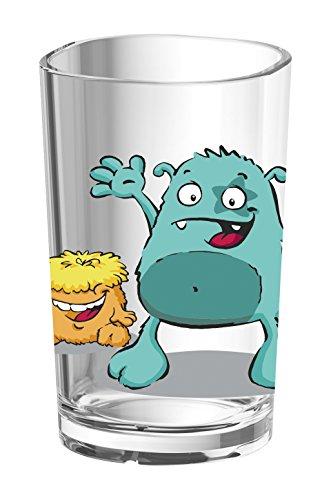Emsa 516275 Kindertrinkglas Monster, 0,2 L
