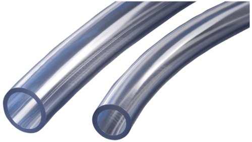Kuriyama Kuri Tec PVC, Clear, 3/16 inches ID, 5/16 inches OD, 1/16 inches Wall, 100 feet Length
