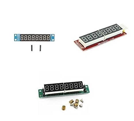 MAX7219 8-Digit LED Display 7 Segment Digital Tube For Arduino Raspberry Pi