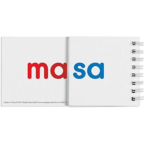 Spanish Syllable Flip Books