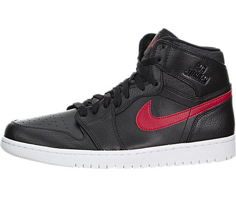 4b10fb4f9d6 ... Nike Jordan Mens Air Jordan Retro High Black/Gym Red/Black/White  Basketball