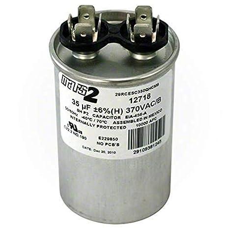 003050.09 old Stock 97F9011 65UF 370Vac Motor Capacitor