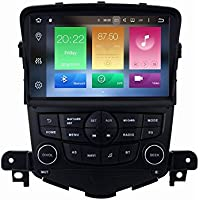 SYGAV Android 6.0 Car Stereo Octa Core 2G RAM for Chevrolet Cruze 2009-2014 Radio with Bluetooth 8 inch In-dash GPS Sat Navigation Head Unit