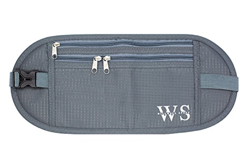 Money Belt for Travelling Hidden Security Pouch Waist Pouch RFID Protect